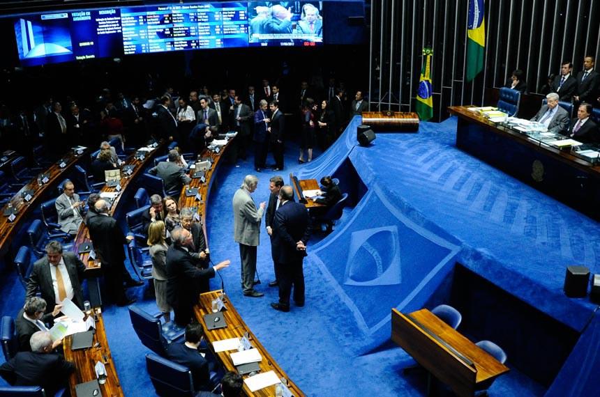 Plenário do Senado durante sessão deliberativa ordinária.*Ordem do dia  Geral do plenário  Foto: Geraldo Magela/Agência Senado