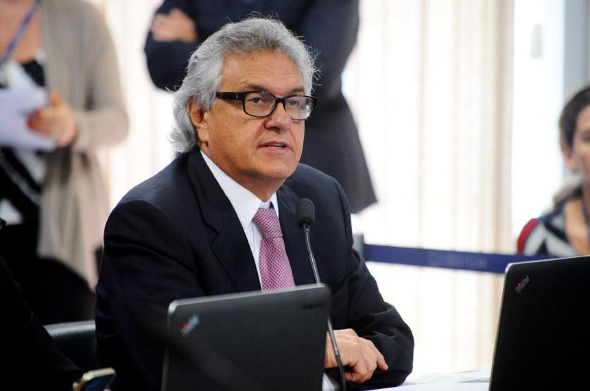 O senador Ronaldo Caiado foi relator da proposta na comissão
