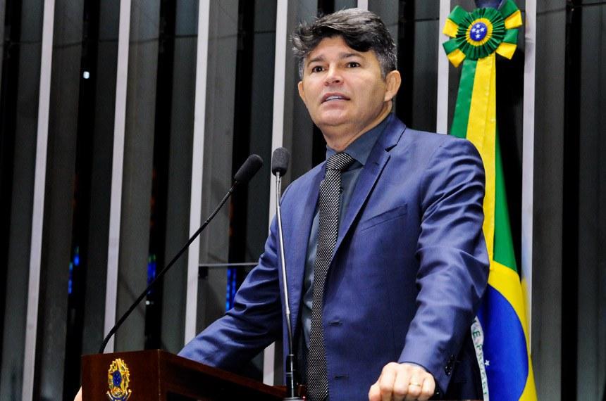 Plenário do Senado Federal durante sessão deliberativa ordinária.   Em discurso, senador José Medeiros (PSD-MT).   Foto: Waldemir Barreto/Agência Senado