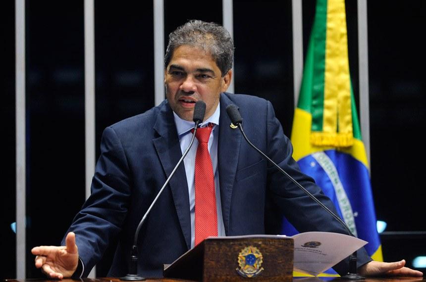 Plenário do Senado durante sessão deliberativa ordinária.  Em discurso, senador Hélio José (PMDB - DF).  Foto: Jonas Pereira/Agência Senado