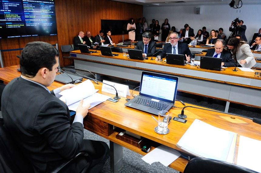 Reunião da Comissão de Meio Ambiente desta terça-feira (13)