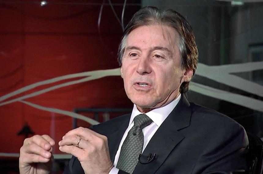 Eunício em pronunciamento à TV Senado: compromisso de buscar soluções para o país