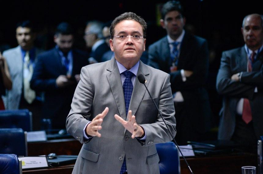 O senador Roberto Rocha (PSB-MA) é autor do pedido para criação da CPI do BNDES