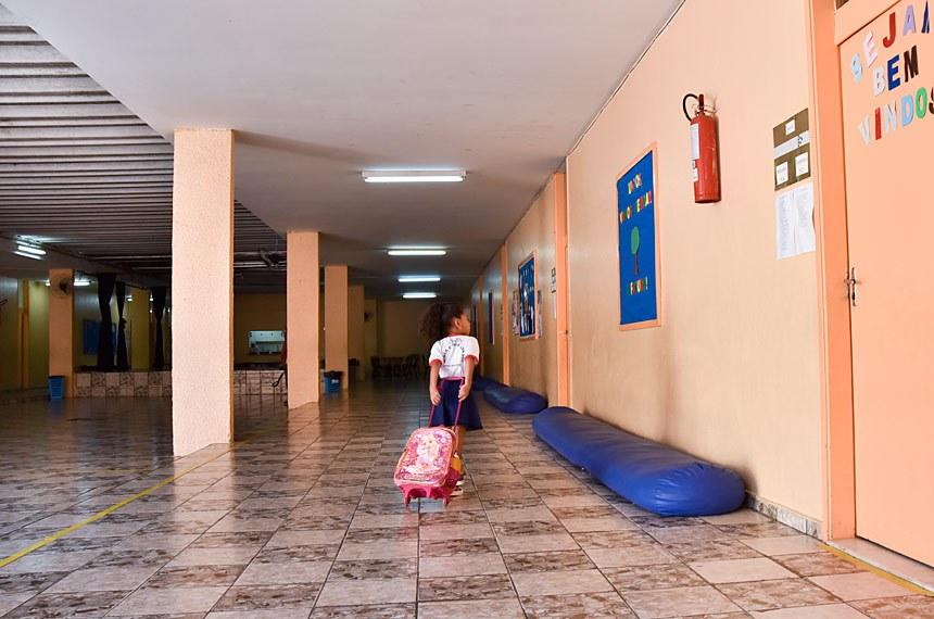Escola Classe 204 Sul (EC 204) participa do Projeto-Piloto de Educação Integral em Tempo Integral (PROEITI). Os estudantes têm quatro refeições, transporte e atividades complementares em 10 horas contínuas de aulas e atividades.  Foto: Pillar Pedreira/Agência Senado