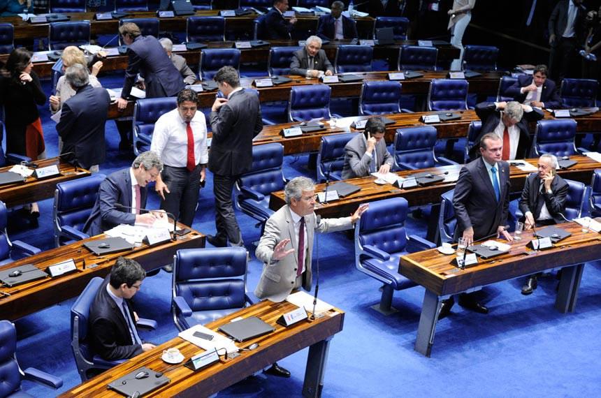 Plenário do Senado Federal durante sessão deliberativa ordinária. Ordem do dia.   Em pronunciamento, senador Jorge Viana (PT-AC).   Foto: Edilson Rodrigues/Agência Senado