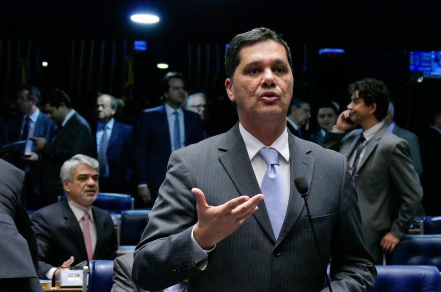 Plenário do Senado Federal durante sessão deliberativa ordinária. Ordem do dia.  Em pronunciamento, senador Ricardo Ferraço (PSDB-ES).  Foto: Roque de Sá/Agência Senado