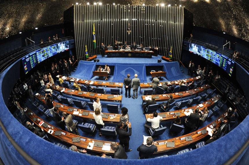 Geral do plenário do Senado durante sessão deliberativa ordinária. Ordem do dia.    Foto: Leopoldo Silva/Agência Senado
