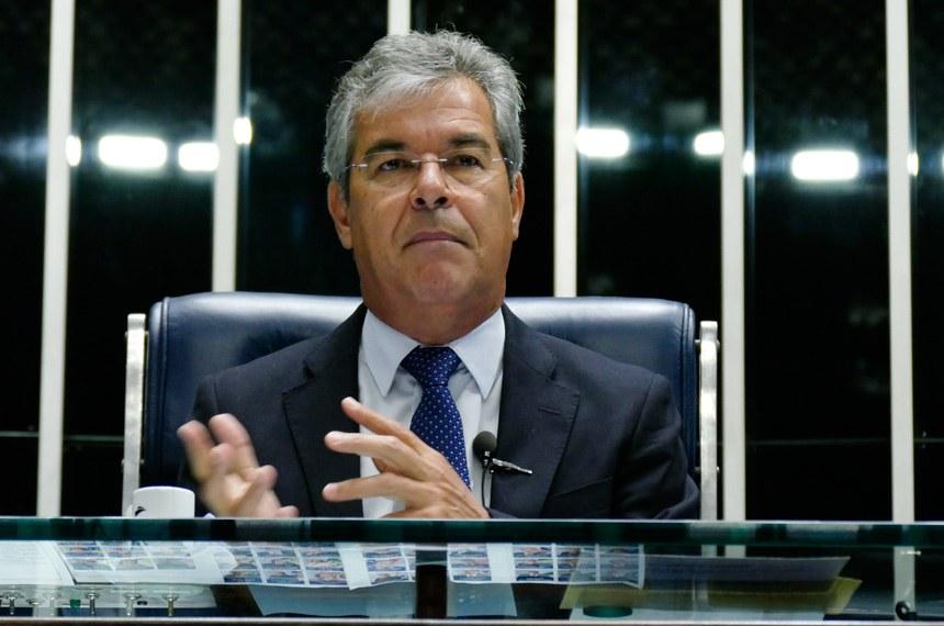 Plenário do Senado durante sessão não deliberativa.  À mesa, senador Jorge Viana (PT-AC) conduz sessão.  Foto: Roque de Sá/Agência Senado
