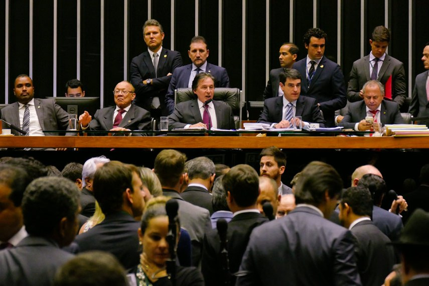 Plenário do Senado Federal durante sessão especial do congresso  Foto: Roque de Sá/Agência Senado