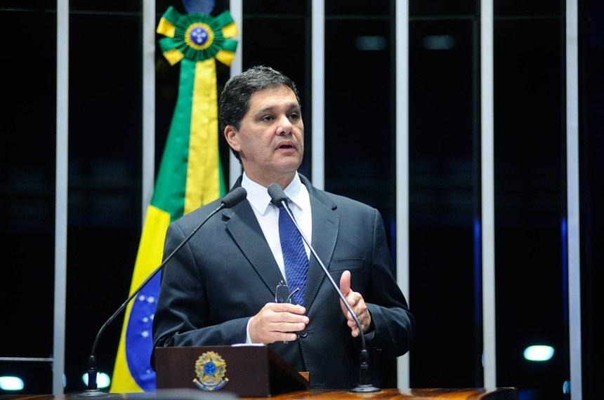 Plenário do Senado Federal durante sessão não deliberativa.   Em discurso, senador Ricardo Ferraço (PSDB-ES).   Foto: Geraldo Magela/Agência Senado