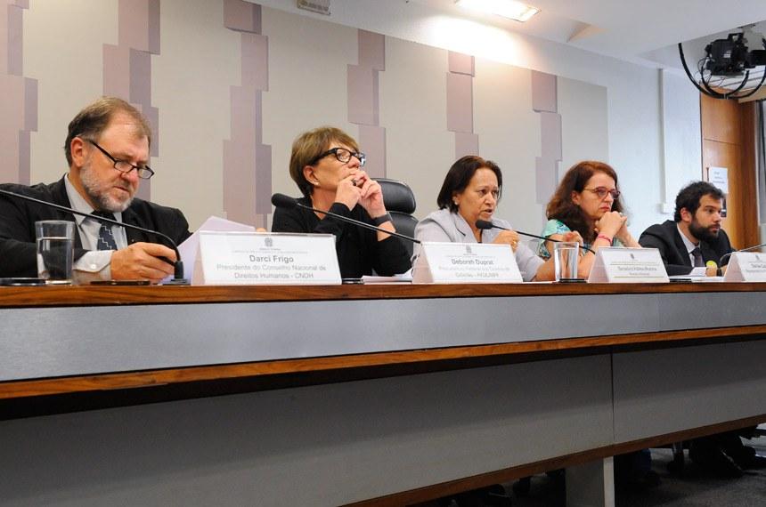 Resultado de imagem para CDH encaminha denúncia de violação de direitos humanos de detento em São Paulo