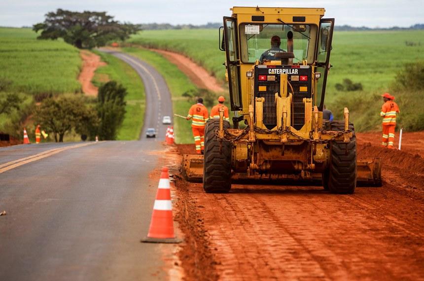 Início das obras de melhoria da Rodovia Raul Forchero Casasco (SP-419)