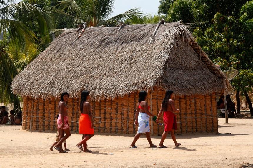 28/09/2017- Reserva indígena Porquinhos, Maranhão. Aldeia dos índios Canela.  28/09/2017- Reserva indígena Porquinhos, Maranhão. Aldeia dos índios Canela.   Fotos: Paulo de Araújo/MMA