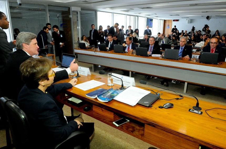 Reunião da comissão mista que analisa a Medida Provisória 793/2017 em que foi aprovado o relatório da deputada Tereza Cristina sobre a matéria