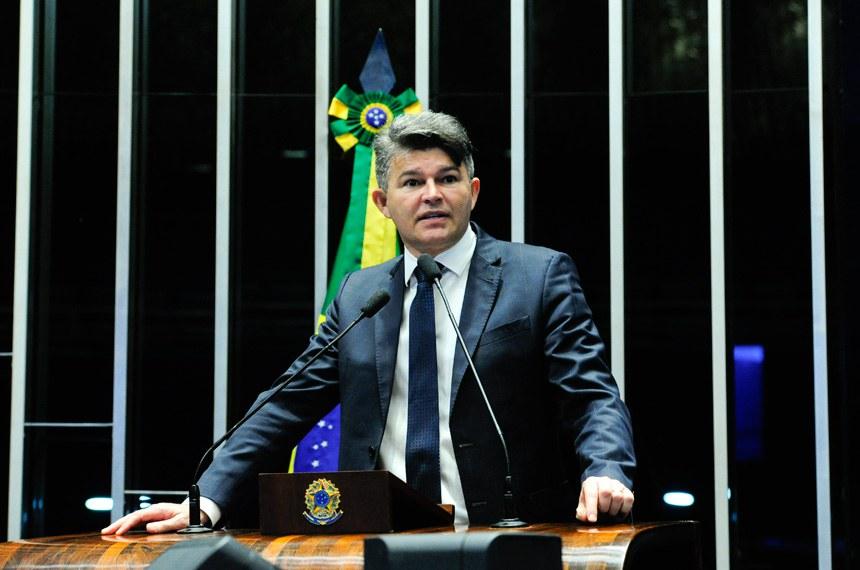 Plenário do Senado Federal durante sessão deliberativa ordinária.   Em discurso, senador José Medeiros (Pode-MT).  Foto: Geraldo Magela/Agência Senado