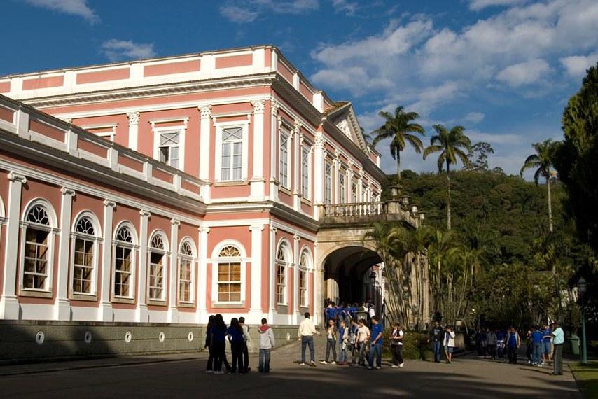 Museu Imperial, em Petrópolis (RJ), é um museu federal, vinculado ao Instituto Brasileiro de Museus