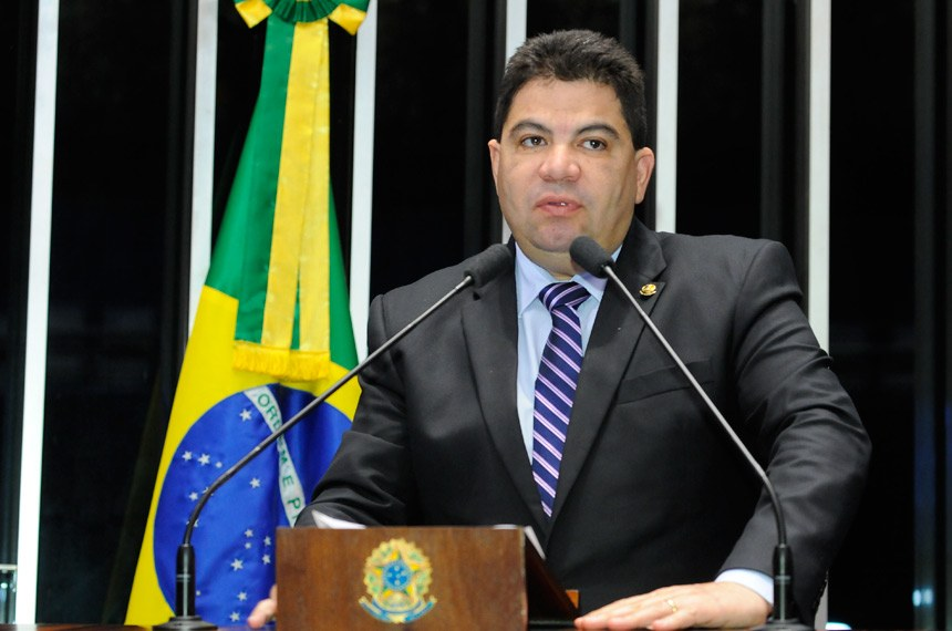 Plenário do Senado durante sessão não deliberativa.  Em discurso, senador Cidinho Santos (PR-MT).   Foto: Waldemir Barreto/Agência Senado