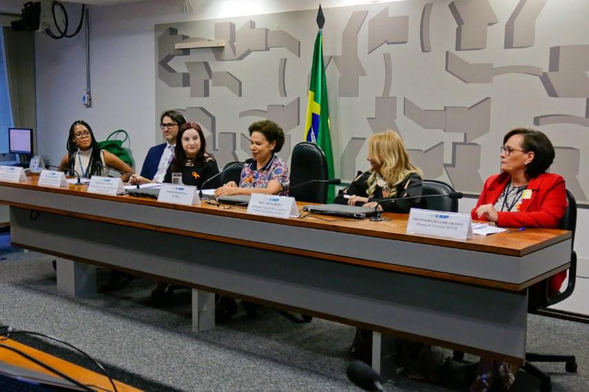 procuradoria geral da mulher - ativismo para o fim da violencia conta a mulher  Foto: Roque de Sá/Agência Senado