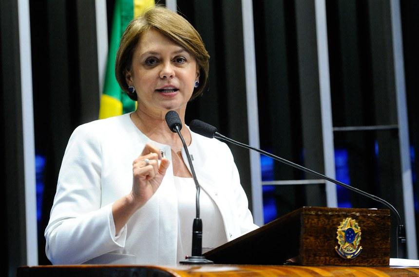 Plenário do Senado durante sessão deliberativa ordinária.  Em discurso, senadora Ângela Portela (PDT-RR).  Foto: Geraldo Magela/Agência Senado
