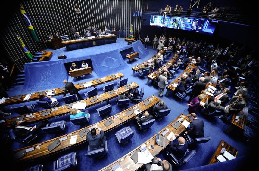 Geral do Plenário do Senado durante sessão deliberativa ordinária. Ordem do dia.   Foto: Marcos Oliveira/Agência Senado
