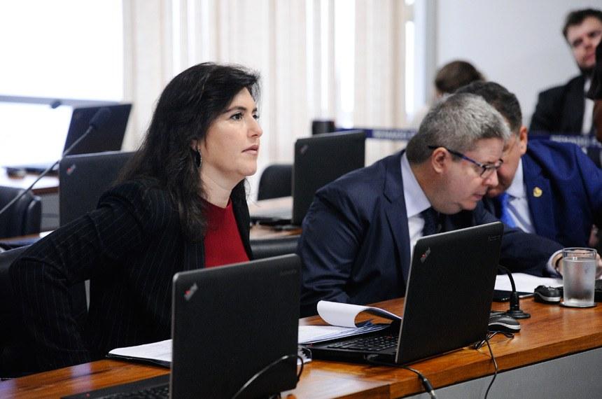 A relatora, senadora Simone Tebet, modificou o texto para retirar a imposição ao Poder Público de dotar os órgãos de segurança pública de VANTs