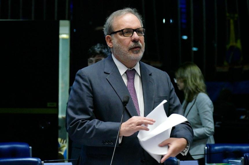 Plenário do Senado Federal durante sessão deliberativa extraordinária.   Em pronunciamento, senador Armando Monteiro (PTB-PE).  Foto: Roque de Sá/Agência Senado
