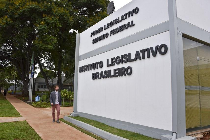 Entrada do Instituto Legislativo Brasileiro (ILB).Foto: Pillar Pedreira/Agência Senado