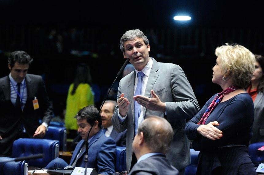 Plenário do Senado durante sessão deliberativa ordinária. Ordem do dia.  Foto: Moreira Mariz/Agência Senado