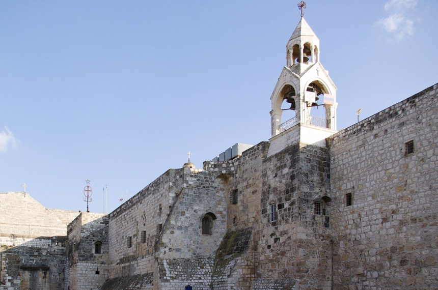 2008 Igreja da Natividade, em Belém, na Palestina.