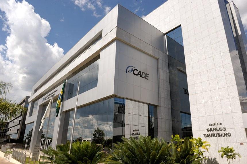 Fachada externa do prédio do Conselho Administrativo de Defesa Econômica (CADE) localizado na quadra 515 norte, em Brasília-DF.  Foto: Jefferson Rudy/Agência Senado