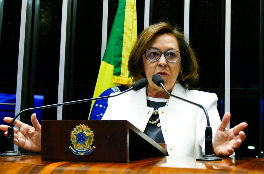 Plenário do Senado Federal durante sessão não deliberativa.   Em pronunciamento, senadora Lídice da Mata (PSB-BA).  Foto: Roque de Sá/Agência Senado