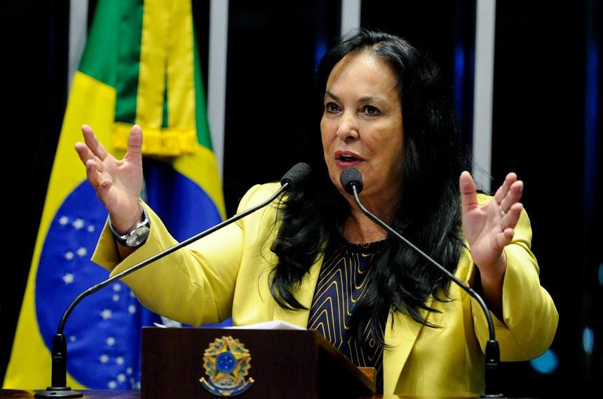 Plenário do Senado Federal durante sessão deliberativa ordinária.   Em pronunciamento, senadora Rose de Freitas (PMDB-ES).  Foto: Marcos Oliveira/Agência Senado
