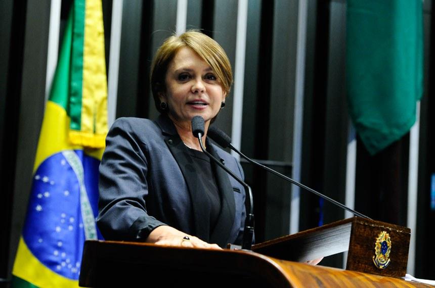 Plenário do Senado Federal durante sessão deliberativa ordinária.   Em discurso, à tribuna, senadora Ângela Portela (PDT-RR).  Foto: Moreira Mariz/Agência Senado