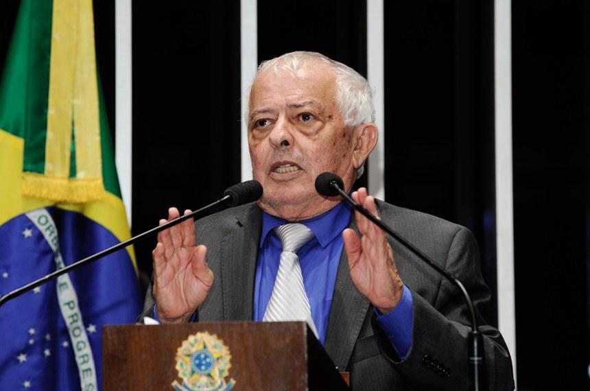 Plenário do Senado Federal durante sessão deliberativa ordinária.   Em discurso, senador Elber Batalha (PSB-SE).  Foto: Waldemir Barreto/Agência Senado