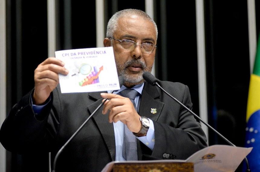 Paulo Paim Ataca Proposta De Reforma Da Previdência E Denuncia
