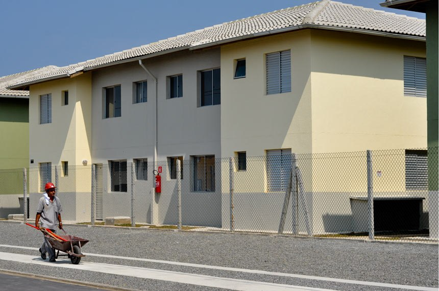 Entrega das chaves do Programa Minha Casa Minha Vida - Guapurá, Itanhaém (SP)