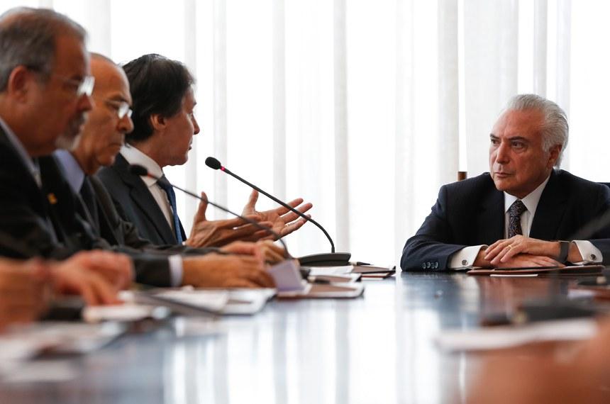 (Brasília - DF, 19/02/2018) Reunião do Conselho da República e do Conselho de Defesa Nacional, no Palácio da Alvorada.Fotos: Marcos Corrêa/PR