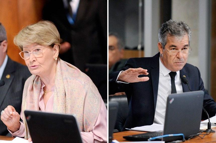 Senadora Ana Amélia (PP-RS) e o senador Jorge Viana (PT-AC) apresentaram o requerimento para ouvir o jornalista e professor licenciado pela Universidade de Tel Aviv Henrique Cymerman Benarroch