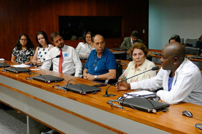 Comissão Senado do Futuro (CSF) realiza audiência interativa para tratar sobre direitos das pessoas com diagnóstico de doença renal crônica e das pessoas transplantadas renais.   Foto: Roque de Sá/Agência Senado