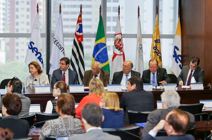 Audiência pública na Federação do Comércio de Bens, Serviços e Turismo do Estado de São Paulo (Fecomércio-SP) sobre a proposta do novo Código Comercial (PLS 487/2013)