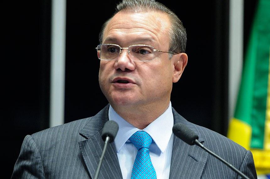 Plenário do Senado Federal durante sessão deliberativa ordinária.   Em discurso, senador Wellington Fagundes (PR-MT).  Foto: Moreira Mariz/Agência Senado