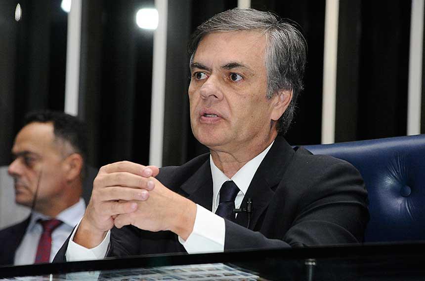 Plenário do Senado Federal durante sessão deliberativa ordinária.   À mesa, senador Cássio Cunha Lima (PSDB-PB).  Foto: Waldemir Barreto/Agência Senado