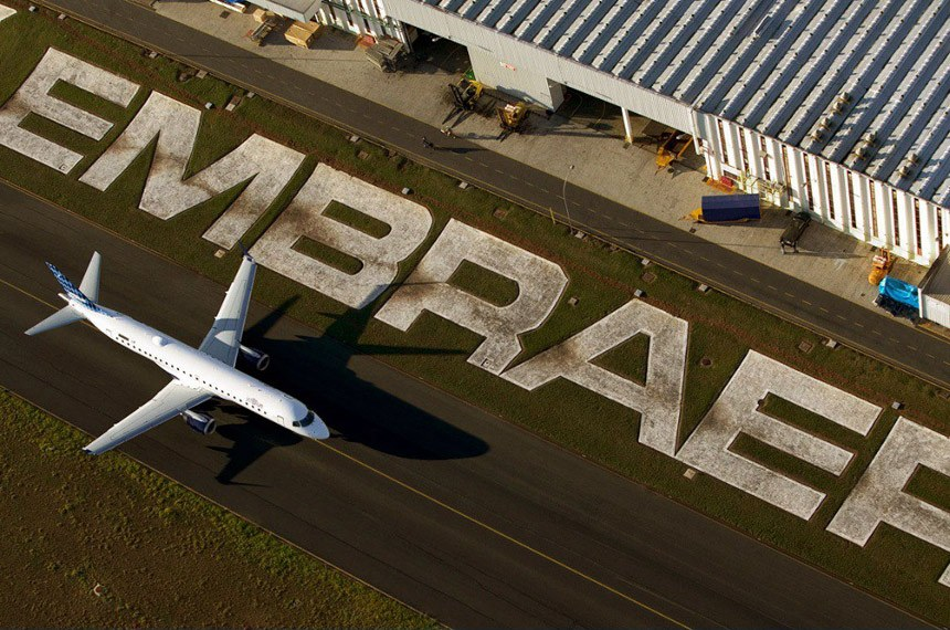 Empresa da Noruega recebe o primeiro avião E190-E2 da Embraer