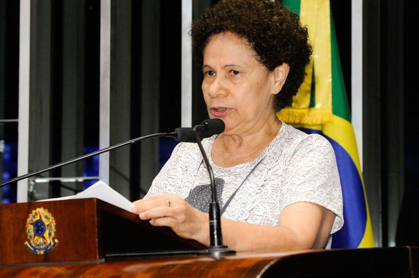 Plenário do Senado Federal durante sessão deliberativa ordinária.   À tribuna em discurso, senadora Regina Sousa (PT-PI).  Foto: Waldemir Barreto/Agência Senado