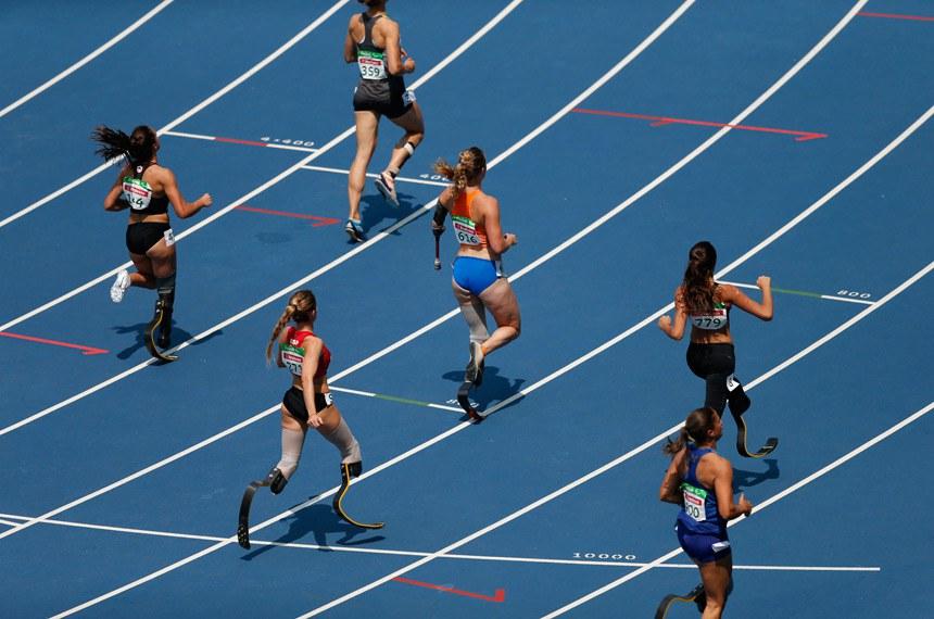 Rio de Janeiro - Semifinal dos 100m T44 feminino nos Jogos Paralímpicos Rio 2016 (Fernando Frazão/Agência Brasil)