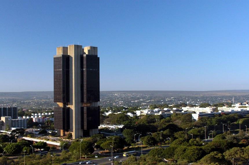 Fachada do Banco Central em Brasília, Edifício-Sede