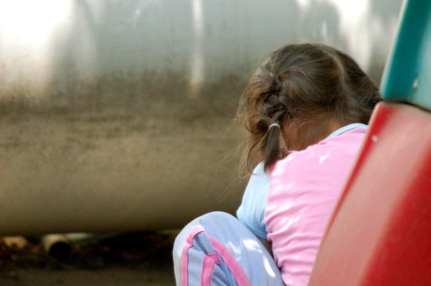 Crianças e jovens da escola para autistas no México.