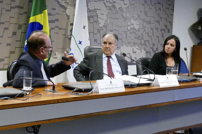 Comissão de Relações Exteriores e Defesa Nacional (CRE) realiza   Foto: Roque de Sá/Agência Senado