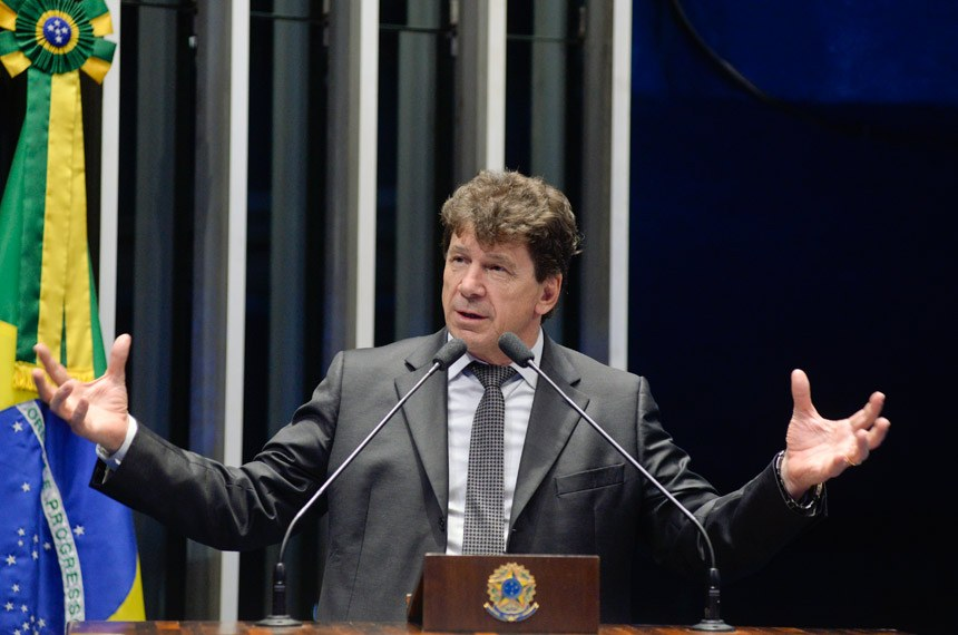 Plenário do Senado Federal durante sessão deliberativa ordinária.   À tribuna em discurso, senador Ivo Cassol (PP-RO).  Foto: Roque de Sá/Agência Senado