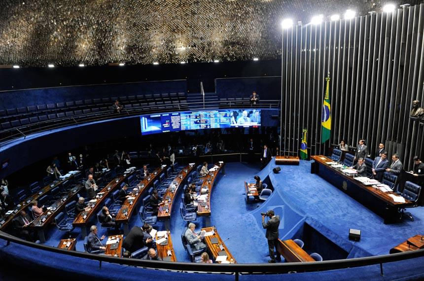 Plenário do Senado Federal durante sessão deliberativa ordinária. Ordem do dia.  Foto: Jonas Pereira/Agência Senado